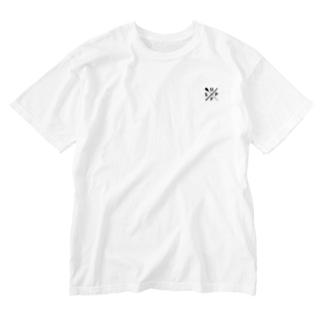 SUPフィッシングTシャツ Washed T-shirts