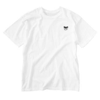 ニット帽リスくん Washed T-Shirt