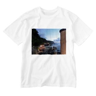 ROCK BAR Washed T-shirts