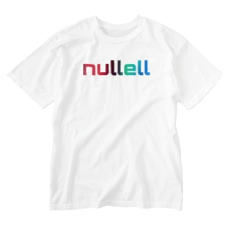 NULL-ELL Washed T-shirts