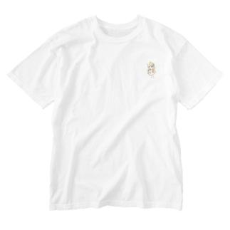 えーびぎちゃん Washed T-shirts