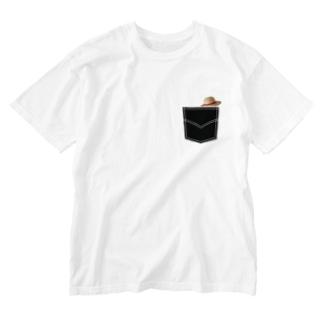 ダレデモ海賊王 Washed T-shirts