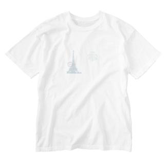 Paris_POSTCARD Washed T-shirts