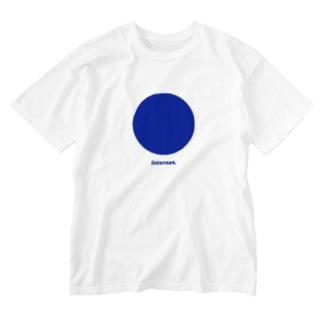 Internet___Blue Washed T-shirts
