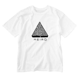 MEIRO Washed T-shirts