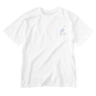 blue bird Washed T-shirts