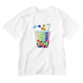 Tapioca Smile Washed T-shirts