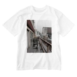 Zou Yilu(balcony) Washed T-shirts