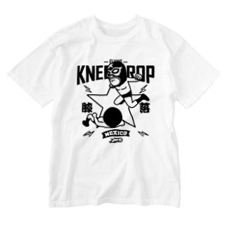 LUCHA LIBRE#88mono Washed T-shirts