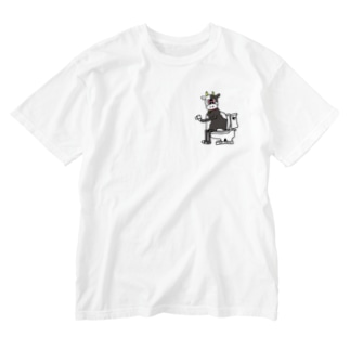 TOILET COW ② Washed T-shirts
