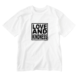 LOVE AND KINDNESS Washed T-shirts