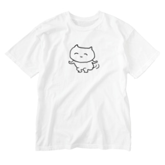 ふりふり Washed T-shirts