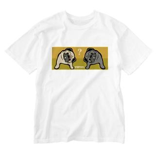 ぱぐこんび Washed T-shirts