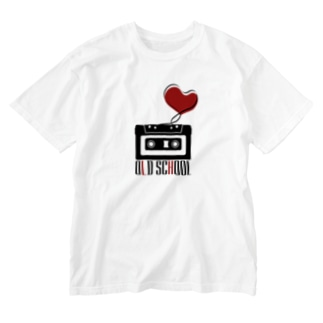 Compact Cassette / Old School Washed T-shirts