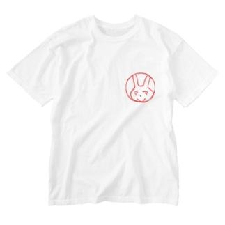 ママのだもん Washed T-shirts