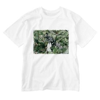 紙切れぬ人 Washed T-shirts