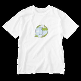 ねこまんがピッコロリンゴロの猫星☆にゃんこスター Washed T-shirts