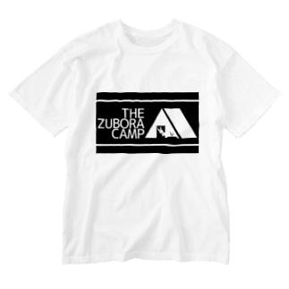 ズボラキャンプ Washed T-shirts