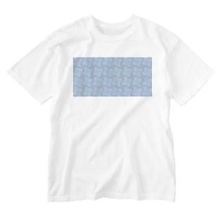 淡虹_A_長 Washed T-shirts