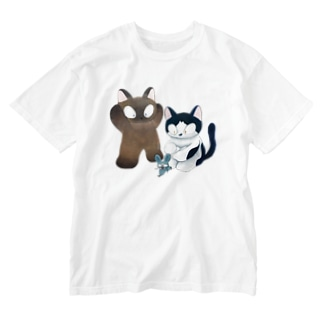 cat mouse cat Washed T-shirts