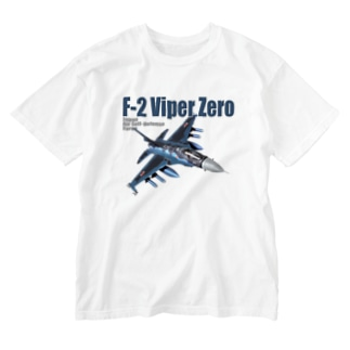 kazu Aviation ArtのF-2 バイパーゼロ Washed T-shirts