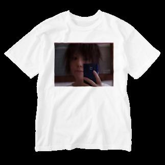 。(テン)オリジナルの。てんグッズ Washed T-shirts