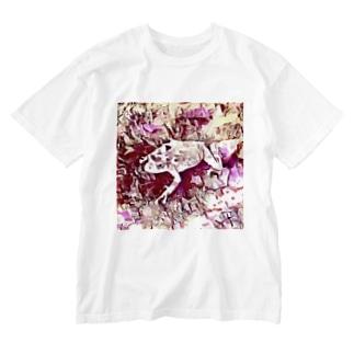 Fantastic Frog -Rose Quartz Version- Washed T-shirts