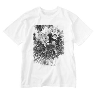 BlackFlower Washed T-shirts