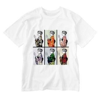 ムラコさん Washed T-shirts
