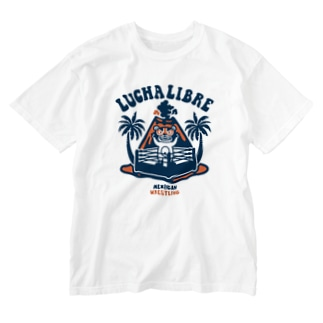 VOLCAN LUCHA LIBRE#1 Washed T-shirts