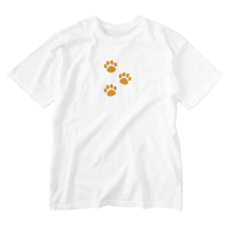 DOG STAMPS Washed T-shirts