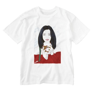 Coffee Time Washed T-shirts