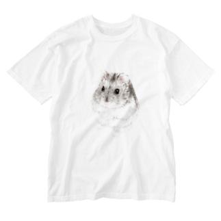 ジャンガリアンハムスターA Washed T-shirts