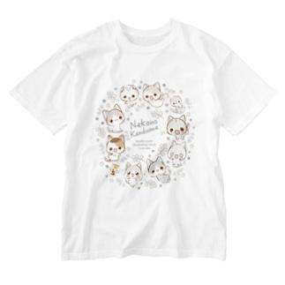 らくがき風-2019-ミモザ Washed T-shirts