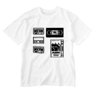 Tape Washed T-shirts