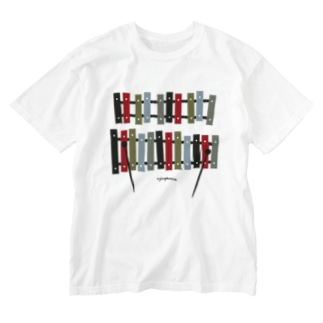 木琴 xylophone Washed T-shirts