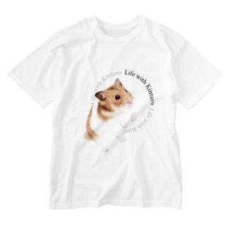 ゴールデンハムスター Washed T-shirts