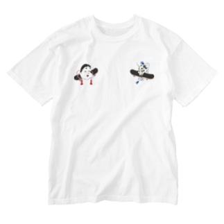 Otafuku and Hannya Washed T-shirts