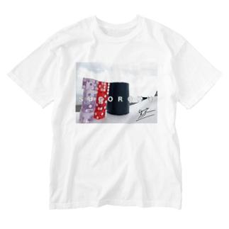 ウォッシュTシャツ Washed T-shirts