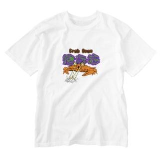 蟹光線 Washed T-shirts