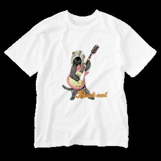 Rock catのRock cat 2 Washed T-shirts