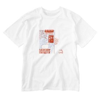 原風景 Washed T-shirts