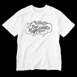 NAPOLI710のNAPOLINATOオリジナル Washed T-shirts