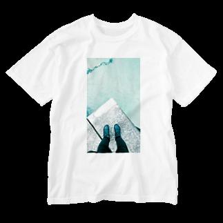 古春一生(Koharu Issey)の今日じゃない。 Washed T-shirts