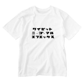 Project-Jのワイゼット ニーゴーマル エフエックス Tシャツ Washed T-Shirt