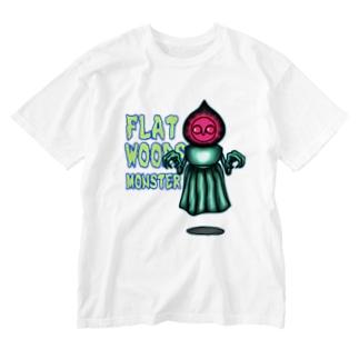 フラットウッズモンスター Washed T-shirts