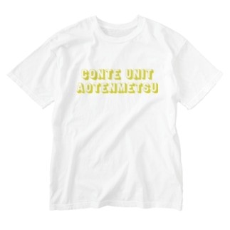 英語 Washed T-shirts