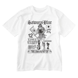 SAMURAIBLUE Tシャツ Washed T-shirts