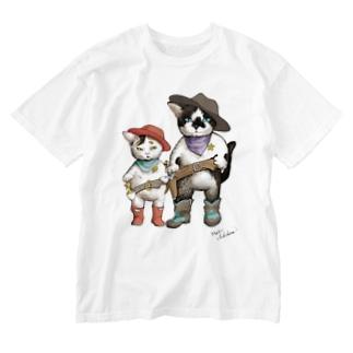 手を上げろって云ってみたい Washed T-shirts