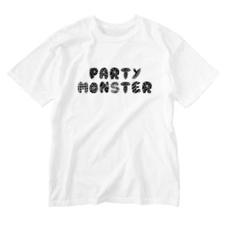 ぱちもんTシャツ Washed T-shirts